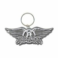 БРЕЛОК - AEROSMITH WINGS LOGO KEY CHAIN METAL - Меломания