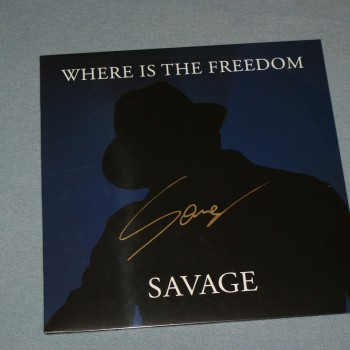 SAVAGE - WHERE IS THE FREEDOM (maxi-single) (7 tracks) (blue vinyl) - Меломания
